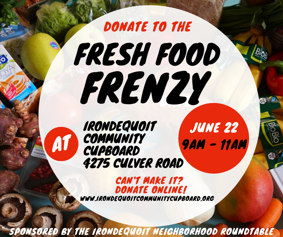 Fresh Food Frenzy Announcement